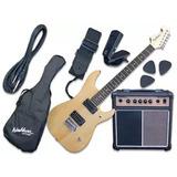 Pack De Guitarra Eléctrica Washburn + Amplificador, Funda,