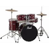 Batería Acústica Pearl Roadshow - Drum Set W / Hardware Y Pl