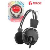 Te Headset Te-z808 Plug 3.5mm, 1.8 Metros - Presentación En