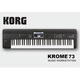 Korg Krome 73 Sintetizador Workstation 6/8 Teclado Piano