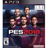 Pro Evolution Soccer 2018 Pes18 Digital Ps3 Oferta Neogamez
