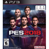 Pro Evolution Soccer 2018 Pes18 Digital Ps3 Neogamez