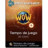 World Of Warcraft Prepaid 1 Mes (tiempo De Juego)