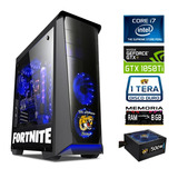 Pc Gamer Cpu Intel I7 8 Nucleos+nvidia Gtx 1050 Ti 4gb Gddr5