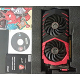 Placa De Video Tarjeta De Video Msi Amd Rx570 Gamer Pci 4gb