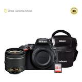 Nikon Oficial D5600 18-55 Vrii Y Estuche