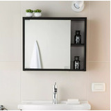 Mueble Para Baño Gabinete Con Espejo Resistente A La Humedad