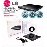 Grabador - Lectora Externa Lg Usb 2.0 - Cd/dvd Envio Gratis