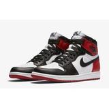Zapatillas Nike Air Jordan 1 Retro High Og Black Toe Rojo