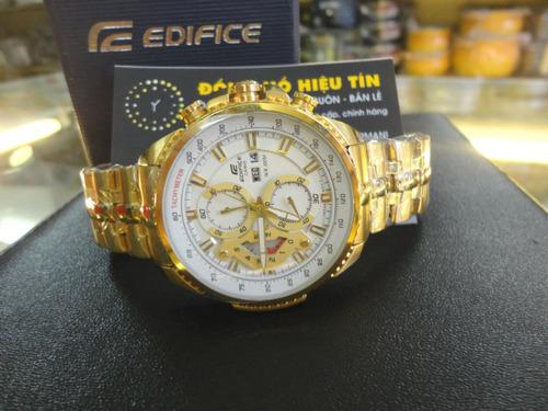 52bcef324137 Reloj Casio Edifice Dorado Ef-558fg-7av - Sellado Original (Casio) a ...