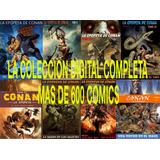 Conan El Barbaro Colección Digital Completa  +600 Numeros