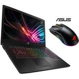 Asus Gl703ge Ci7-8750h 16gb 1tb+256ssd Gtx1050ti 4gb + Mouse