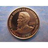 Moneda Oro Peru Francisco Bolognesi 100 Mil Soles Año 1979