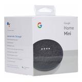 Google Home Mini Charcoal Smart Assistant No Chromecast