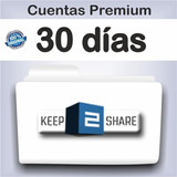 Premium Keep2share 30 Dias