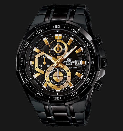 8357a495f582 Reloj P hombre Casio Edifice Efr 539bk 1a Sellado Nuevo