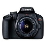 Cámara Dslr Canon Eos Rebel T100 C/lente Ef S18-55 Iii