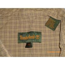 Camisa Timberland Original 100% Algodon Manga Larga Leñador