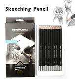 Lápices De Grafito Sketching Pencil X 12 Unidades