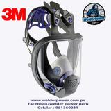 Respirador Máscara Completa 3m Ff-400