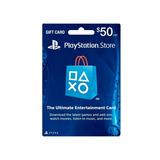 $50 Psn Play Station Network Card  Para Store Usa
