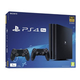 Ps4 Play Station 4 Pro 1tb + 2 Mandos - Stock Disponible