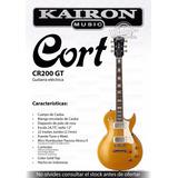 Guitarra Electrica Cort Goltop A Precio Sin Competencia ****