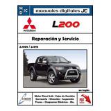 Manual Taller Mitsubishi L200 2005-2015 Diagramas Electrico