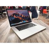 Macbook Pro Core I7 2014 16gb Ram 256 Ssd 15 Pulg Apple