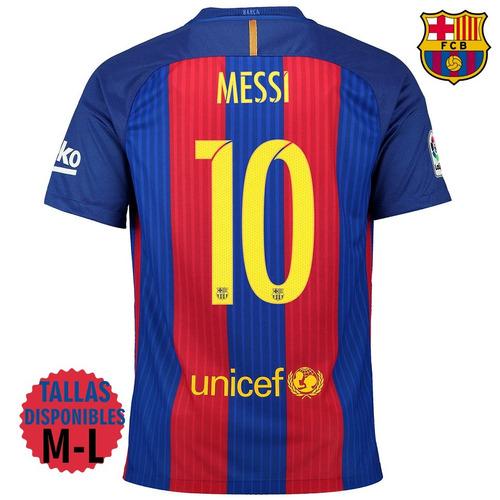 Camiseta Nike Fc Barcelona 2016 17 Messi 10-100% Originales! en ... 1b230d9cb8e
