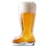 Vaso Bota Cervecera Vidrio 1 Litro Bota Chelera