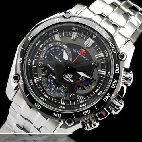 9aa0bdedf23b Reloj Casio Edifice Ef-550rbsp-1av Red Bull - 100% Original