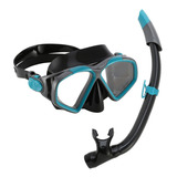 Combo Mascara Y Snorkel Aqua Lung Sport Hawkeye