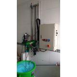 Agitador Industrial Con Elevador Eléctrico