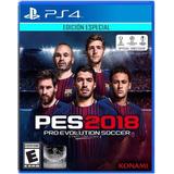 Pro Evolution Soccer 2018 Pes 2018 Ps4 Edición Especial