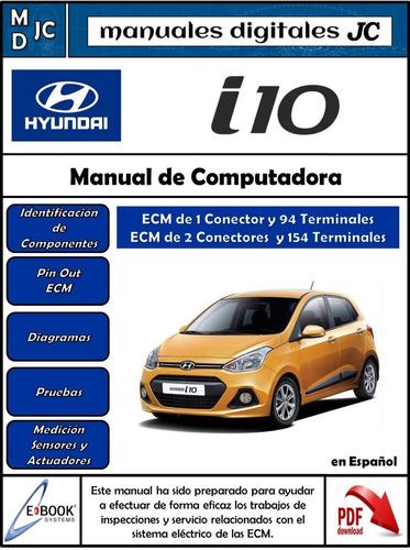 Manual De Computadora (ecm) Hyundai I10 - S/  22 en Melinterest
