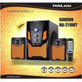 Parlante Halion Gordon 2.1 100w Bass + Treble