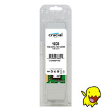 Memoria Ram Crucial 16gb 1x16gb Ddr3l 1600 Sodimm