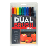 Tombow Dual Brush Doble Punta Pincel Marcador Lettering Desd