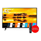 Tv 43 LG Uhd 4k 2019 Um7100 Magic Inteligencia Artificial