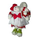 Muñeca Ratona Blanca Country Bebe 62 Cm Navidad Regalo Amor