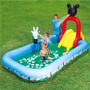 Piscina Para Bebes Y Niños Con Resbaladera Y Regador De Agua