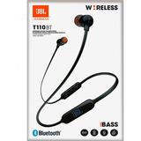 Audifonos Jbl Bluetooth Pure Bass Sound T110 Wireles Colores
