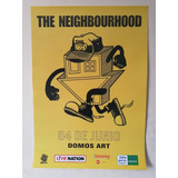 Poster Afiche Concierto The Neighbourhood En Lima Perú Indie
