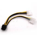 Cable Molex A Pcie 8 Pines Adaptador Convertidor Riser Video