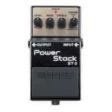 Efecto Para Guitarra Boss St2 Power Stack