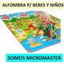 Alfombra Piso Para Bebes Y Niños Reversible - Micromaster