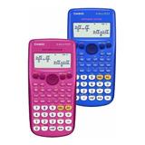 Calculadora Científica Rosado/azul Casio Fx-82la Plus Lince