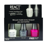 Esmaltes Morgan Taylor React Trio- Sally Beauty
