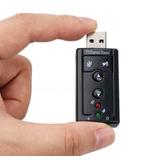 Externa Tarjeta De Sonido Usb 7.1 Canal3d Audio Adaptador